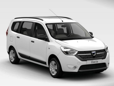 Dacia Lodgy 7 places location voiture martinique categorie d